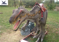 Vivid Waterproof  Lifesize Large Ride On Dinosaur With Mouth Open And Close