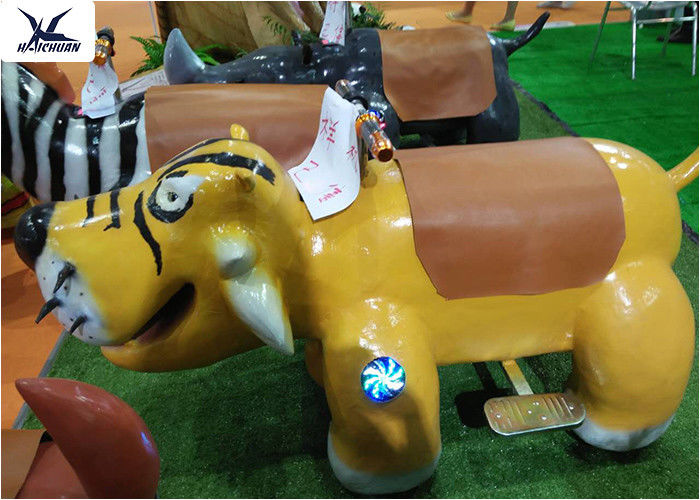 Cartoon Ride On Motorized Stuffed Animals For Amusement Park / Game Center